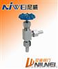 J24H/W-角式外螺紋針型閥